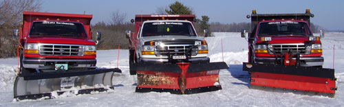 LSU Snow Removal Services Polk County Wisconsin