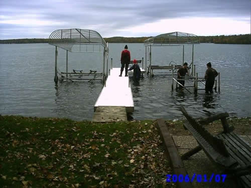 Dock Install Services Balsam Lake Wisonsin