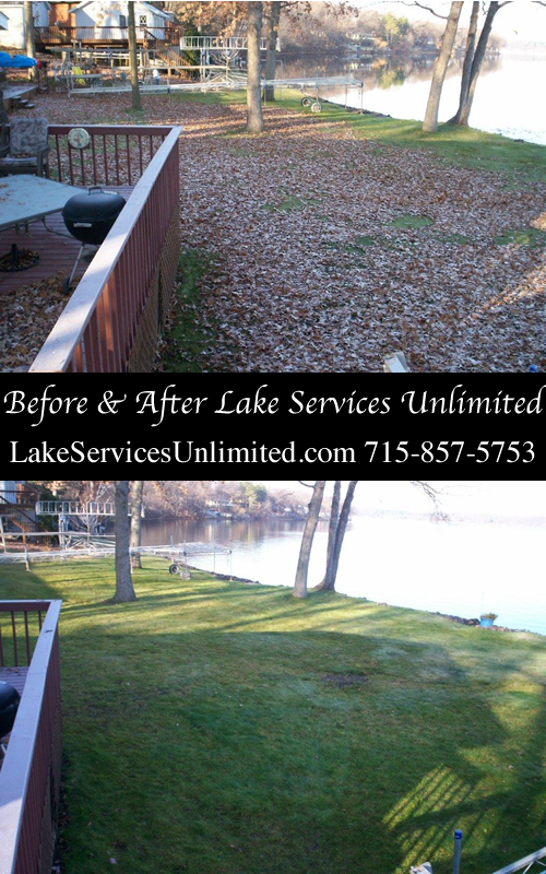 Spring and Fall Lawn Cleanup Services Amery WI