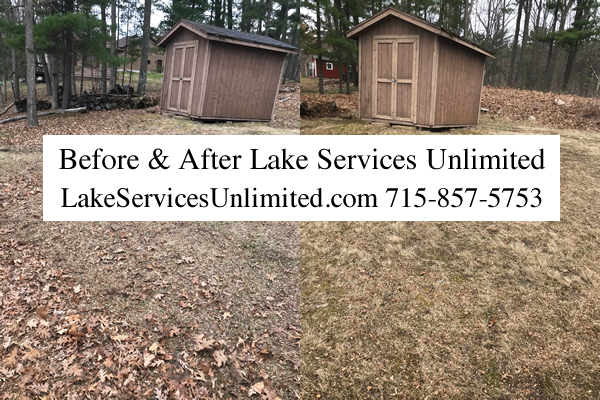 Lawn Cleanup Services Amery Wisconsin