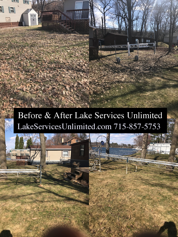 Lawn Cleanup Services Luck Wisconsin