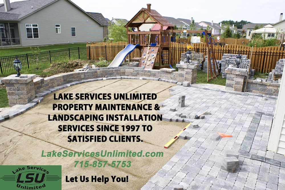 Landscaping Install Amery Wisconsin